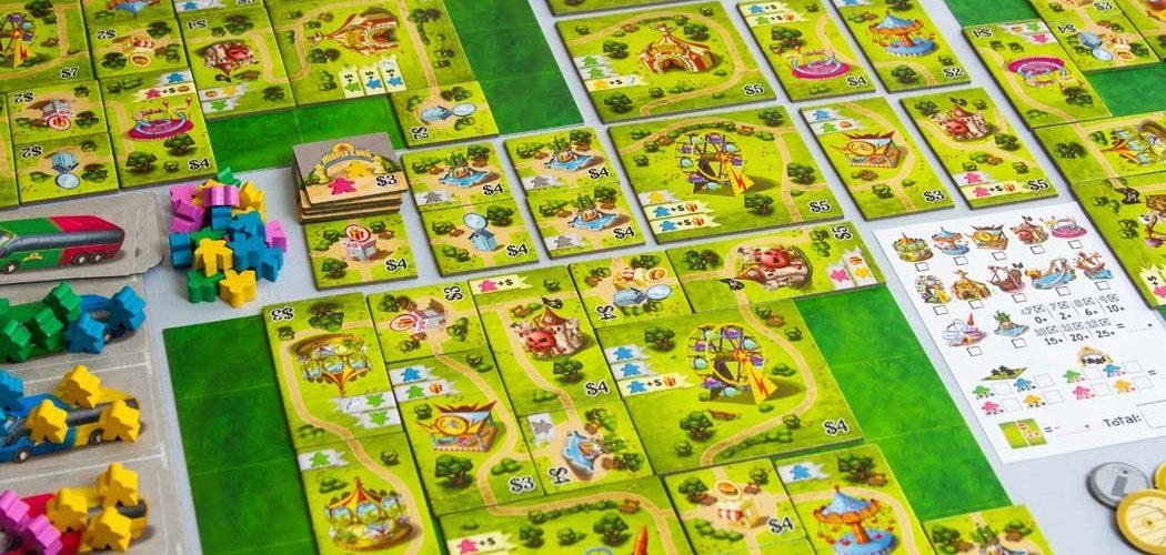 Meeple Land Board Game Gameplay
