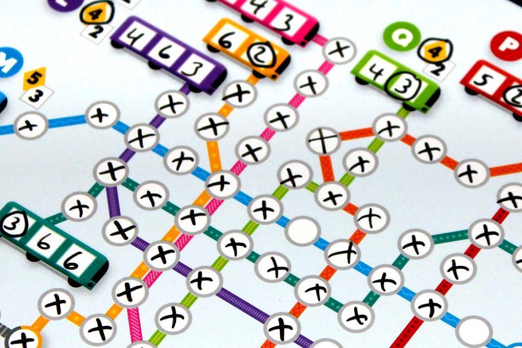 Metro X Board Game