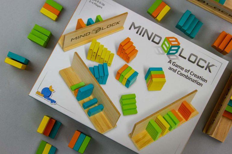 Mindblock Board Game Box Art