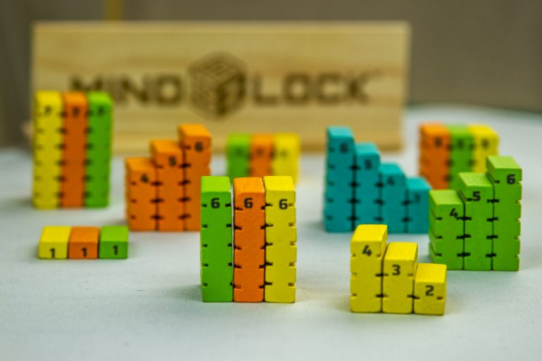 Mindblock Board Game Components