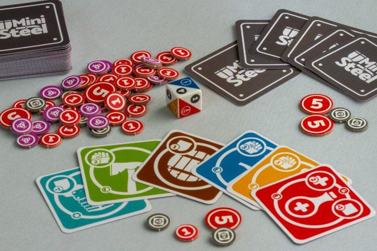 MiniSteel Board Game Gameplay