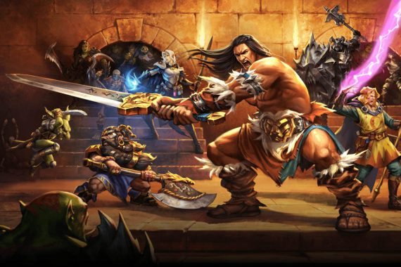 New HeroQuest Game Box Art