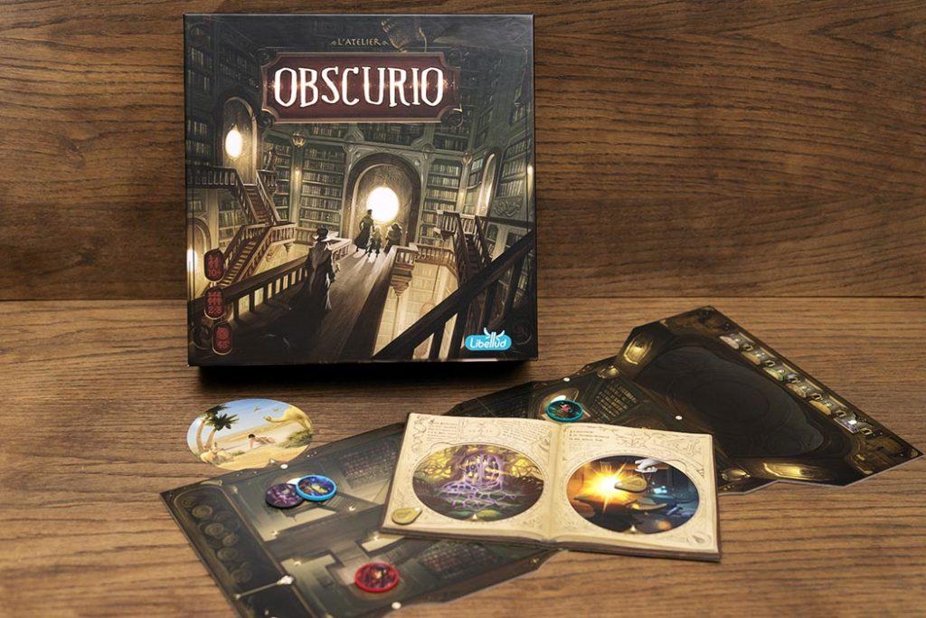 Obscurio Board Game