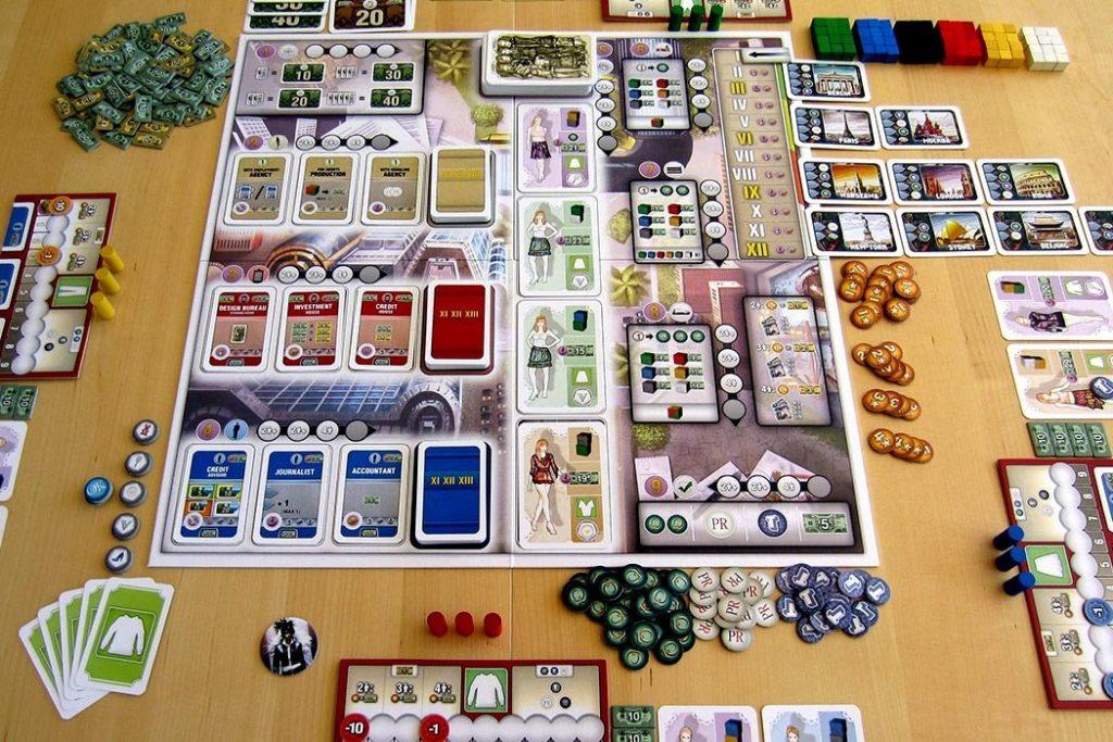 Pret-A-Porter Board Game