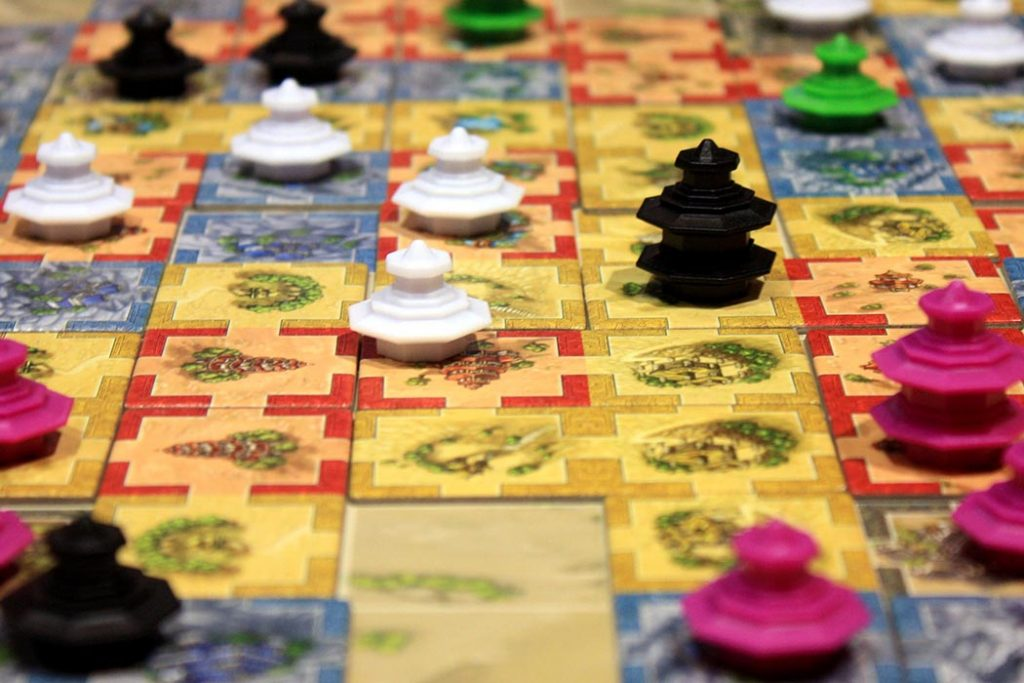 Qin Board Game
