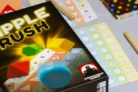 Ripple Rush Board Game Box Art