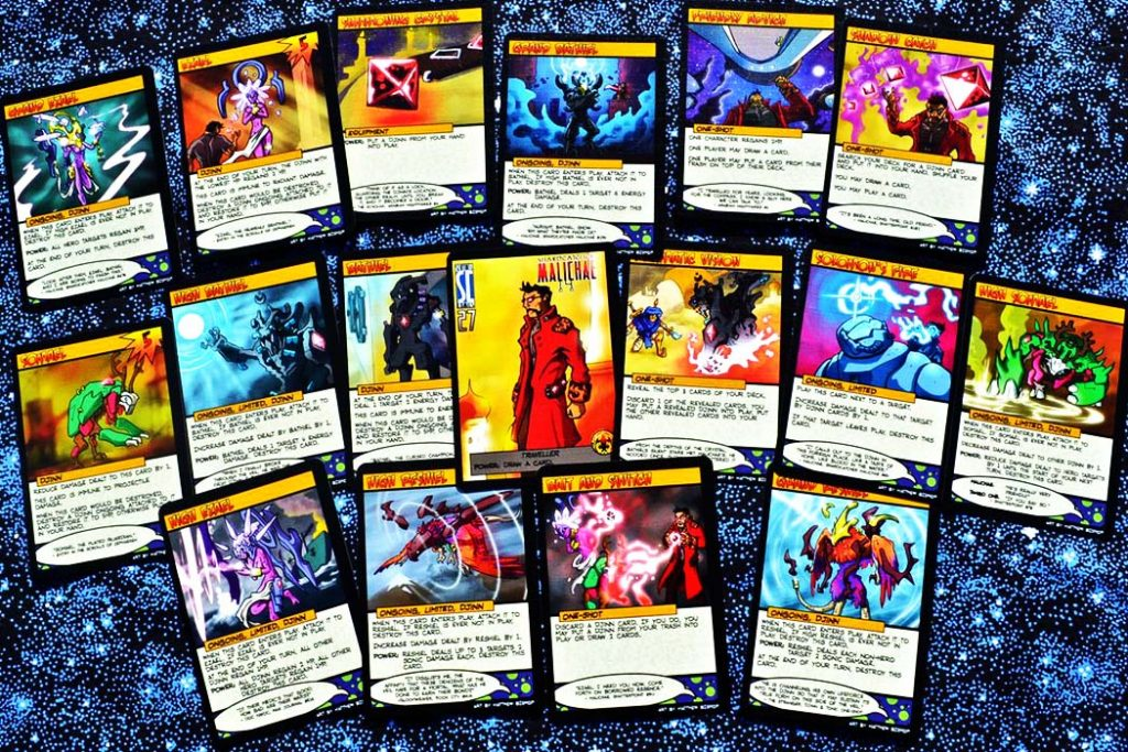 Sentinels Of The Universe Card Game