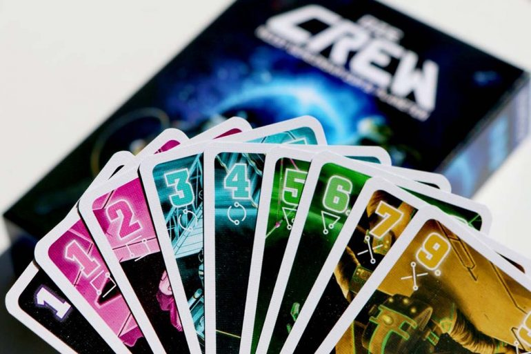 The Crew Board Game Hand Cards