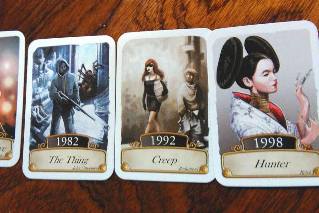 Timeline Music Cinema Board Game