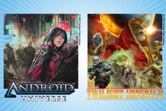 Twilight Imperium and Android Board Game Universes are Going Graphic Novel