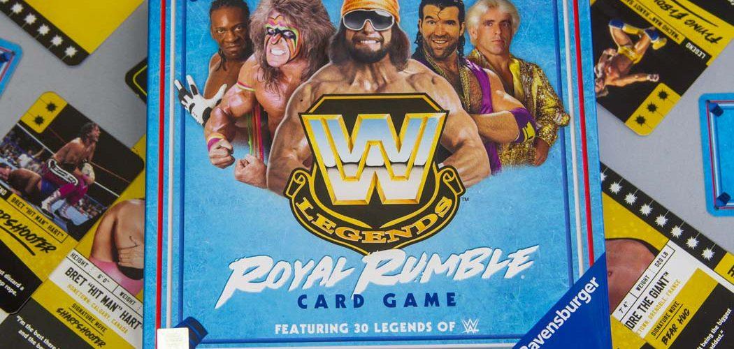 WWE Legends Royal Rumble Card Game Box