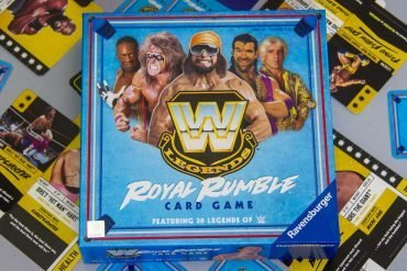 WWE Legends Royal Rumble Card Game Box