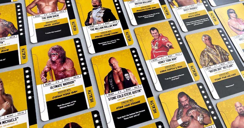 Royal Rumble Card Game Wrestling Legends