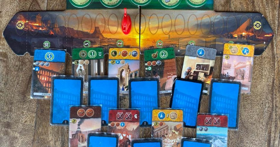 7 Wonders Duel Board Game Overview