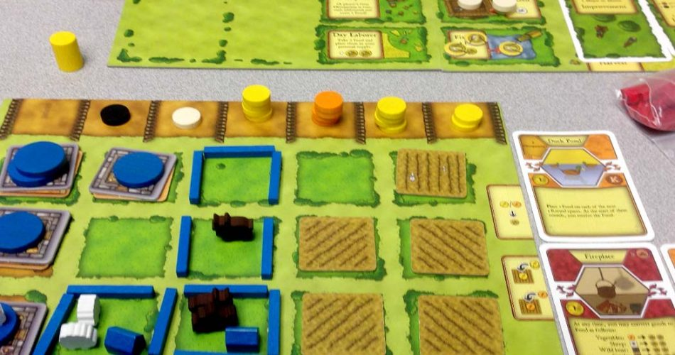 Agricola Board Game Overview