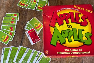 Apples To Apples Board Game Box Art