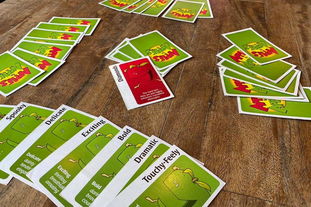 Apples To Apples Board Game Player View