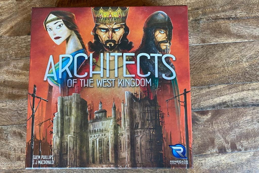 Architects of the West Kingdom Board Game Box Art