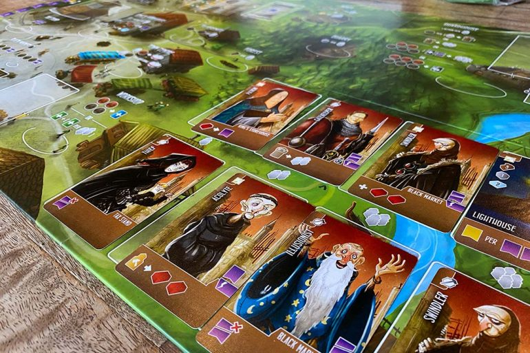 Architects of the West Kingdom Board Game Cards