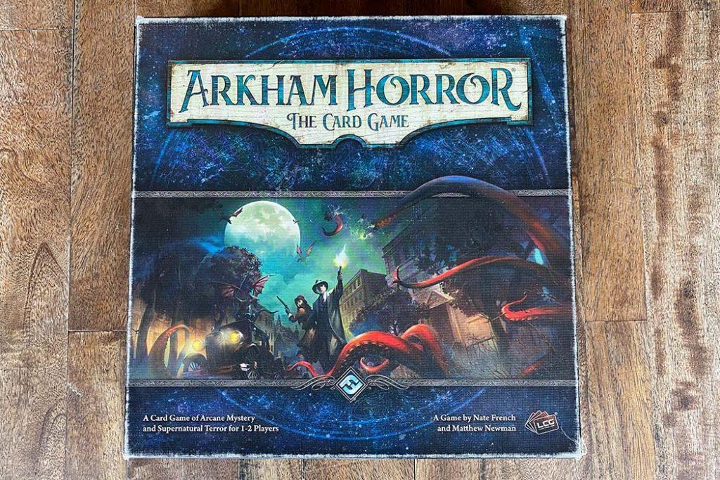 Arkham Horror Card Game Box Art