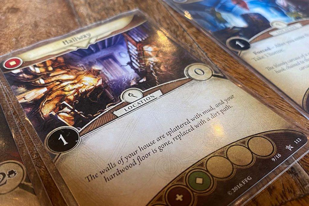 Arkham Horror Card Game Card Close