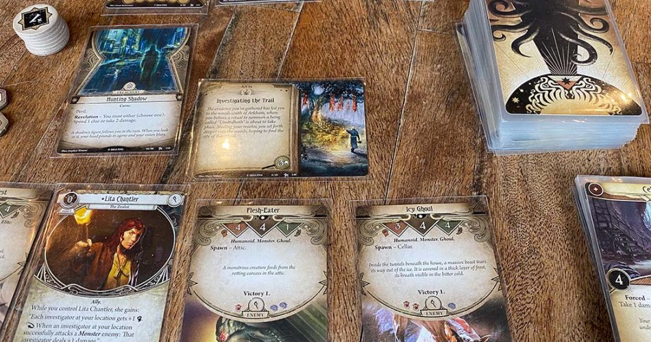Arkham Horror Card Game Gameplay