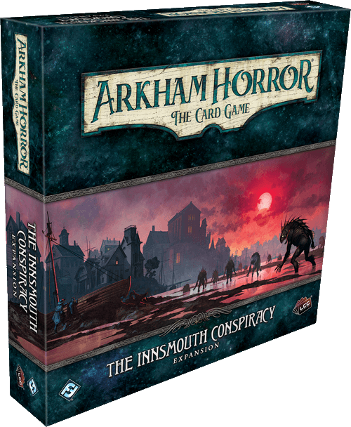 New Arkham Horror TCG Expansion The Innsmouth Conspiracy Game Box