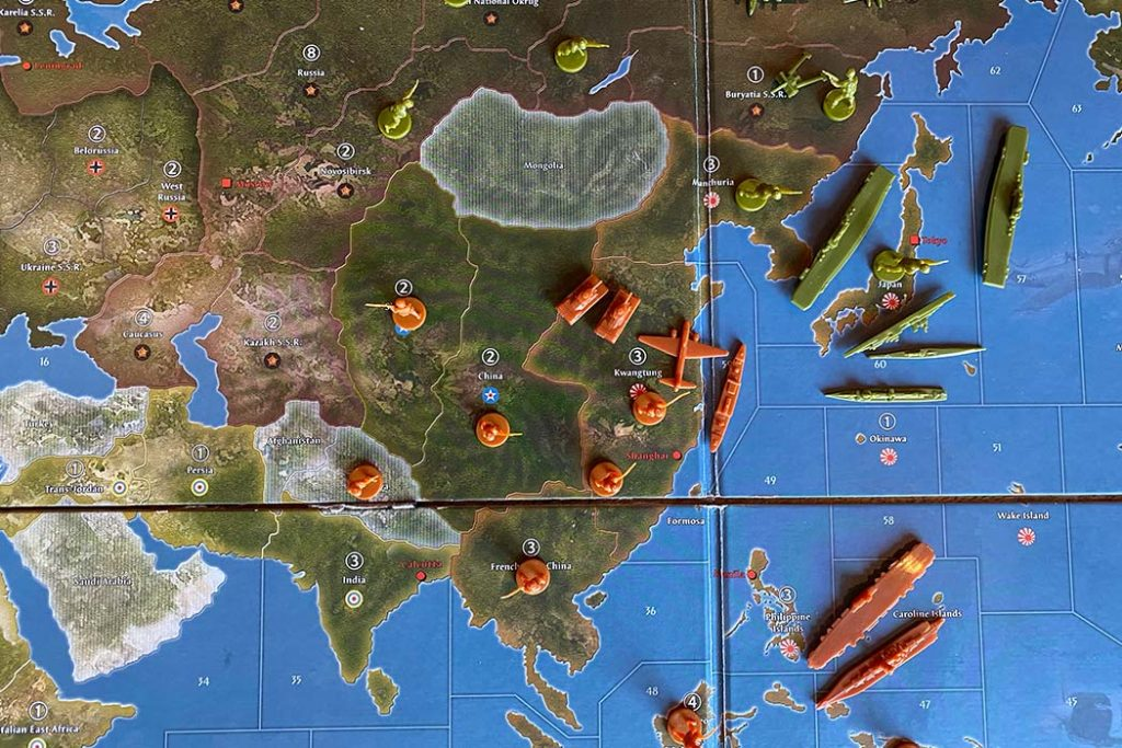 Axis and Allies Board Game Overview