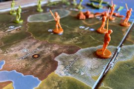 Axis and Allies Board Game Soldiers