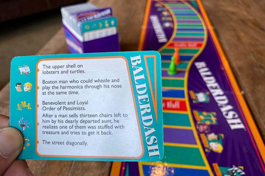 Balderdash Board Game Cards