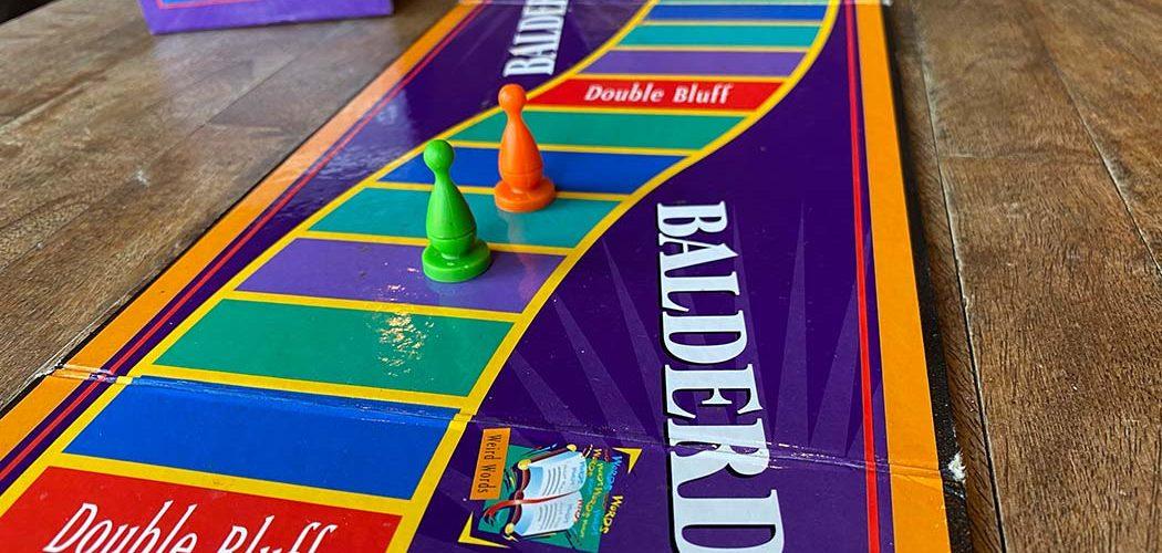 Balderdash Board Game Player Board