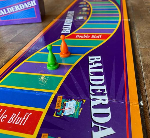 Balderdash Board Game Player Board