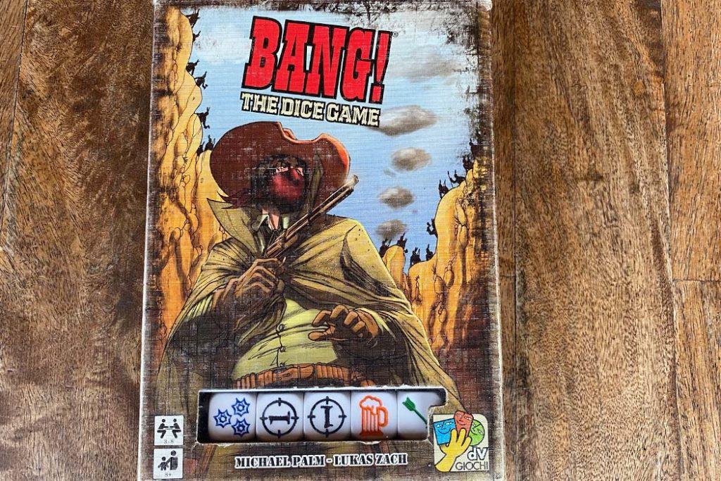 Bang Dice Game Box Art