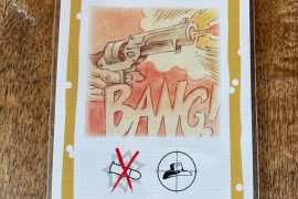 Bang Board Game Revolver