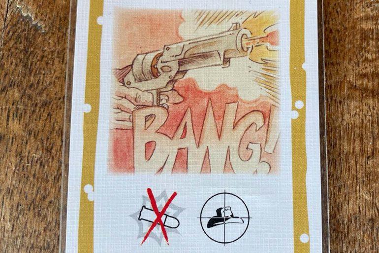 Bang Board Game Revolver