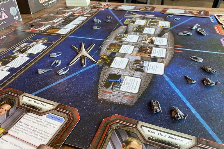 Battlestar Galactica Board Game Gameplay