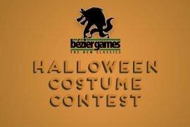 Bezier Games Fan Halloween Costume Contest
