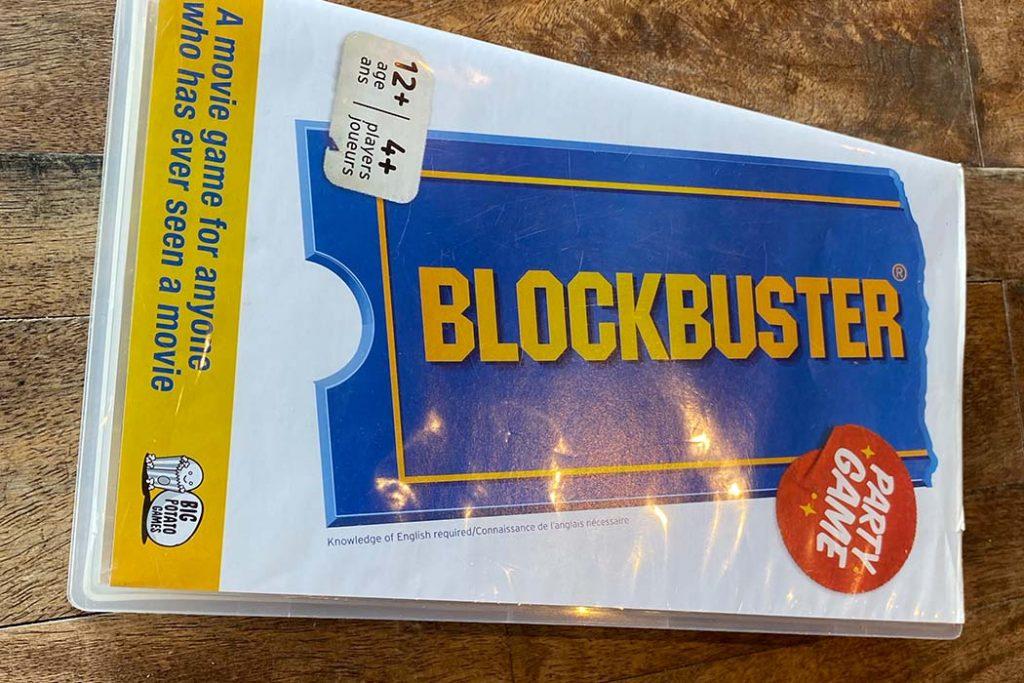 Blockbuster Board Game Box Art
