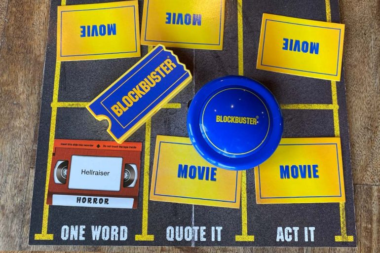 Blockbuster Board Game Overview