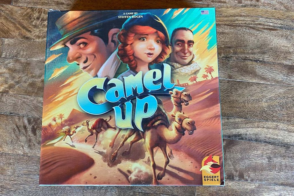 Camel Up Board Game Box Art