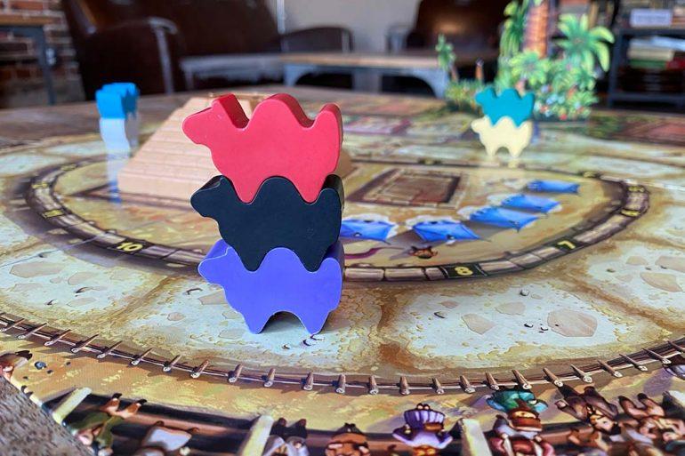 Camel Up Board Game Token Stack