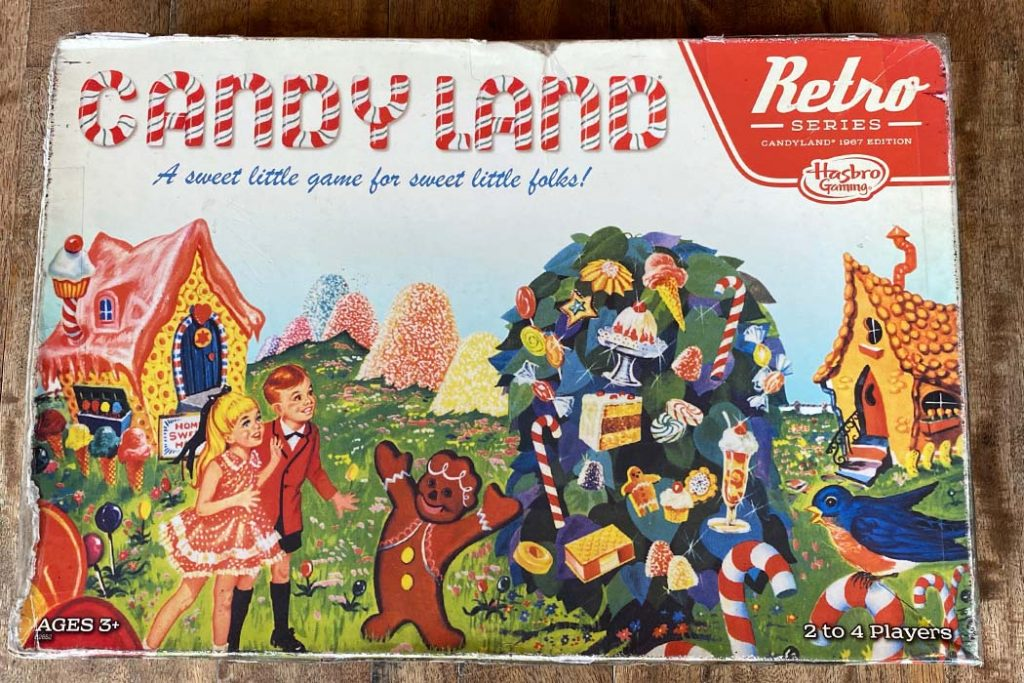 Candyland Board Game Box Art