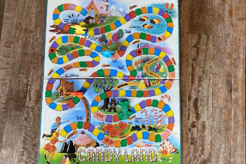 Candyland Board Game Overview