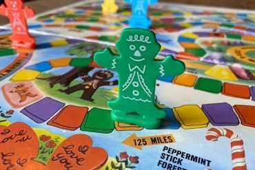 Candyland Board Game Character Close Up