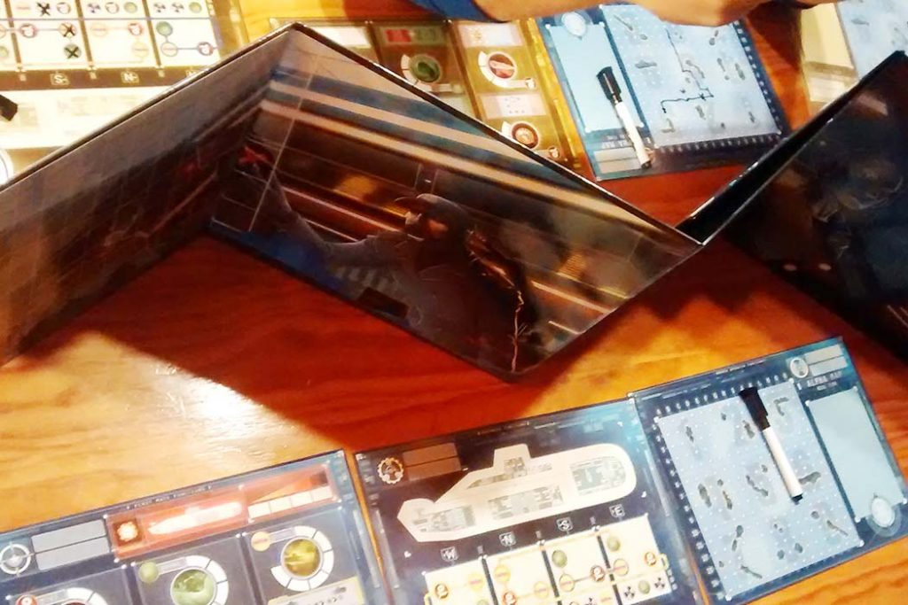 Captain Sonar Board Game Divider