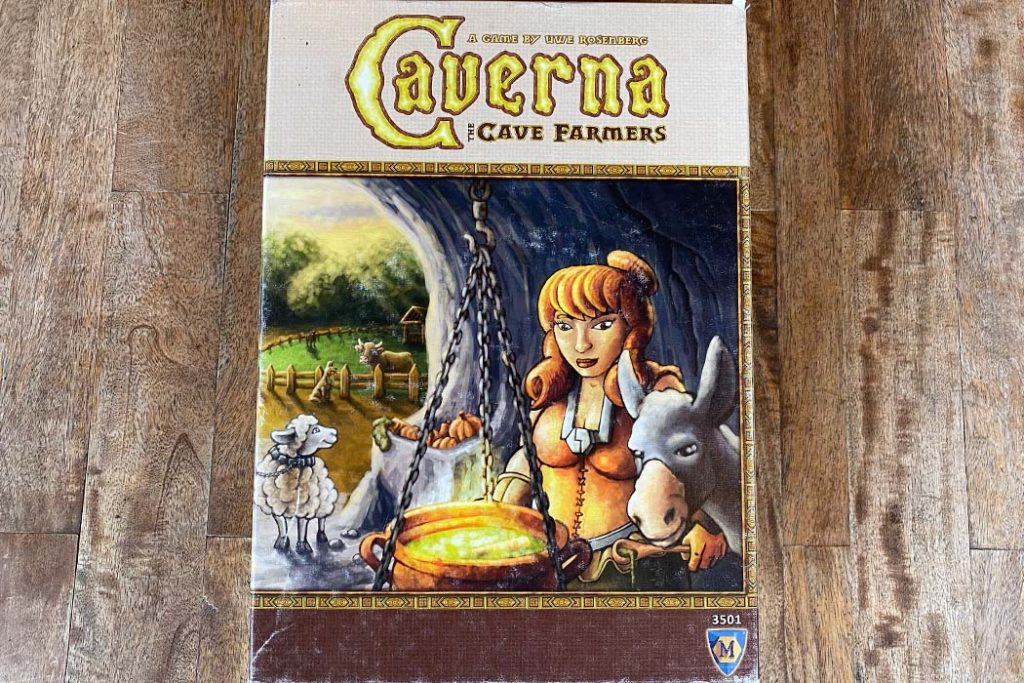 Caverna Board Game Box Art