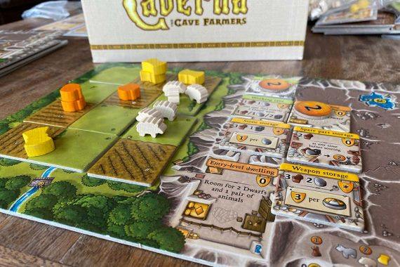 Caverna Board Game Overview
