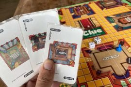 Clue Board Game Cards