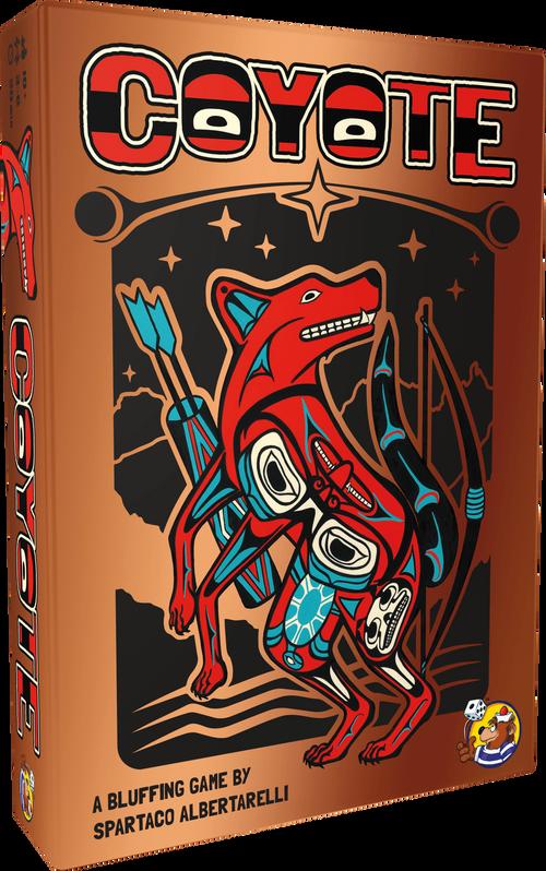 Coyote Board Game Announcement Box Art