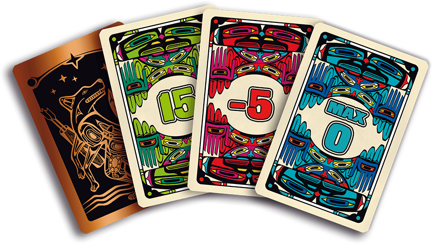 Coyote Board Game Announcement Cards